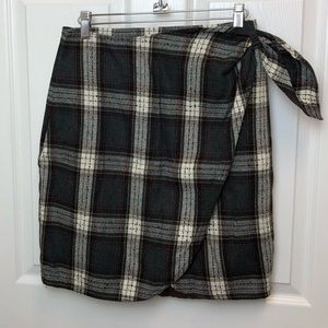 Forenza Plaid Skirt
